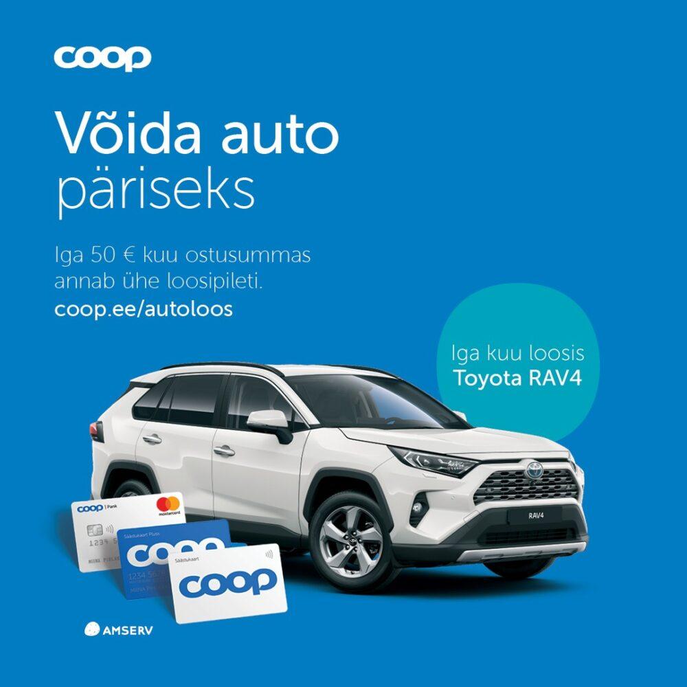 Coop RAV4 autoloos